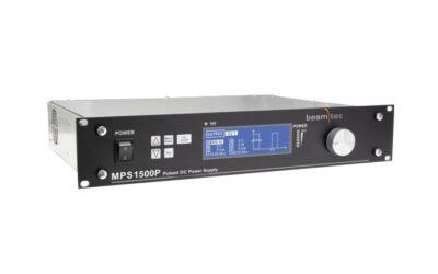 Update für die 1500W DC Plasma-Stromversorgung